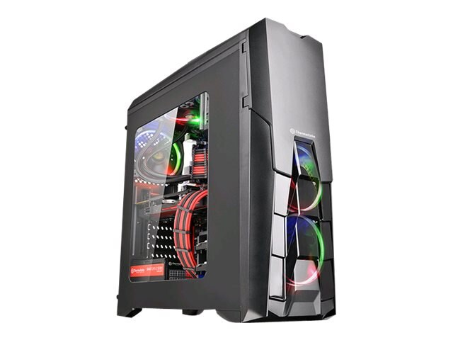 Thermaltake Chassis, Versa N25 Window Mid Tower ATX, Black