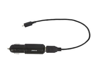 Jabra Car Charger for Pro 6400 Series Headset, 14207-09