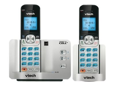 Vtech 2 Handset Connect to Cell Phone with Caller ID Call Waiting, DS6511-2, 16957190, Telephones - Consumer