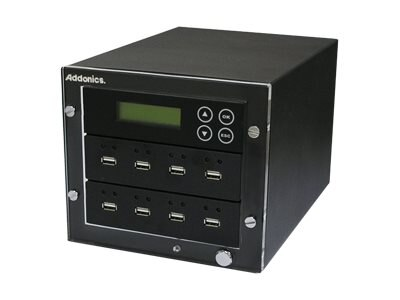 Addonics 1:7 USB Hard Drive Flash Duplicator, UDFH7