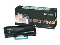 Lexmark Black High Yield Return Program Toner Cartridge for X264dn, X363dn & X364 Series MFPs, X264H11G, 9644646, Toner and Imaging Components