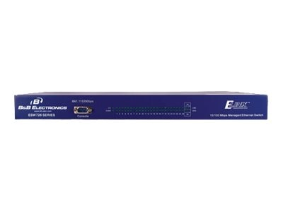 IMC 26-Port Unmanaged 10 100 Ethernet Switch 19IN Rack, ESW626, 16952891, Network Switches