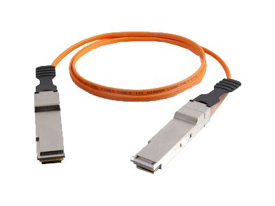 C2G QSFP+ QSFP+ 40G InfiniBand Active Optical Cable, 100m