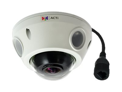 Acti 10MP Outdoor Day Night Basic WDR Mini Fisheye Dome Camera, E927