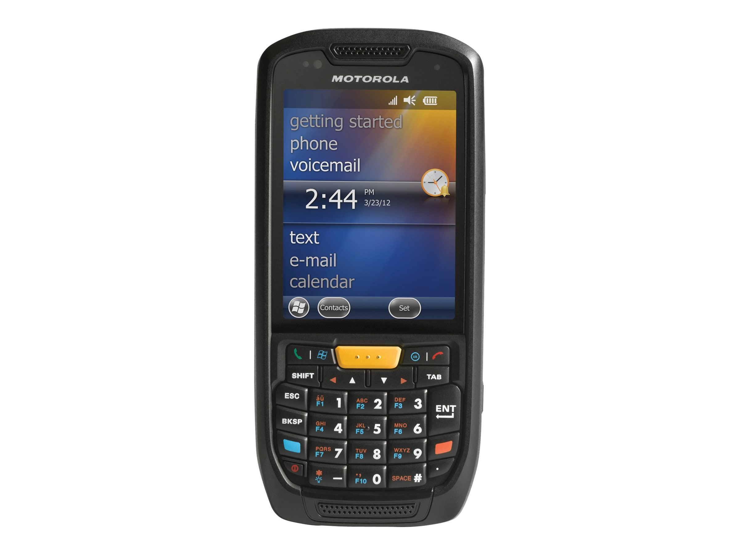 Zebra Symbol MC45 802.11abg BT WAN 3.5G 850 1900MHz GPS 1D English, MC4597-BAPBA0000
