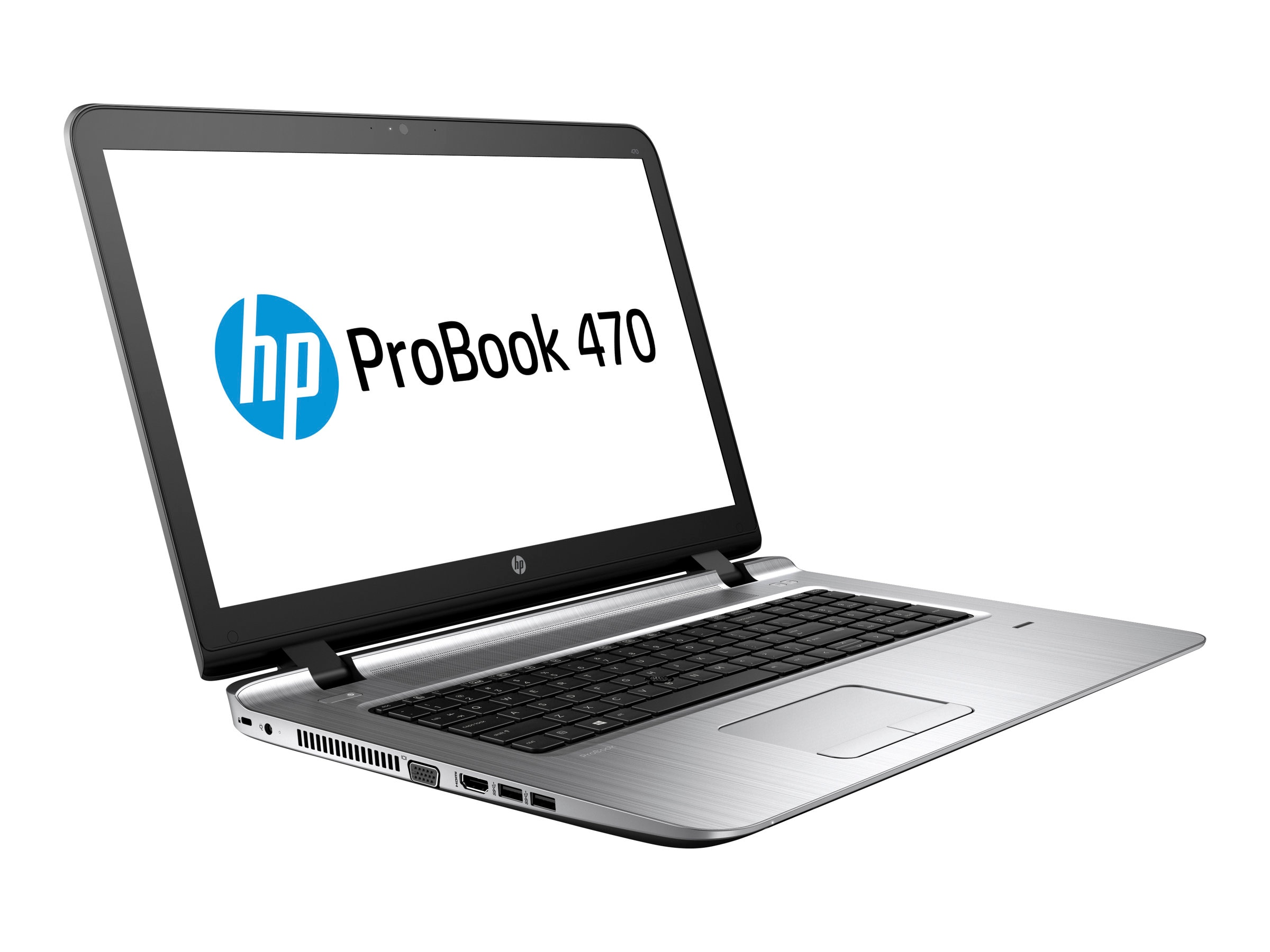 HP EliteBook 470 G3 2.5GHz Core i7 17.3in display, W0S58UT#ABA
