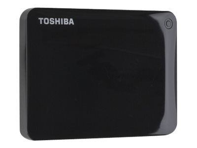 Toshiba 3TB Canvio Connect II Hard Drive - Black, HDTC830XK3C1