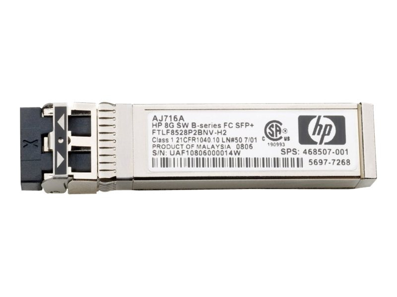 HPE MSA 2040 16Gb FC SW XCVR 4-Pack, C8R24SB, 16250039, Network Transceivers