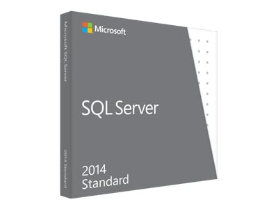 Microsoft SQL Server Standard Edition 2014 DVD 10 Client, 228-10255, 17277719, Software - Database