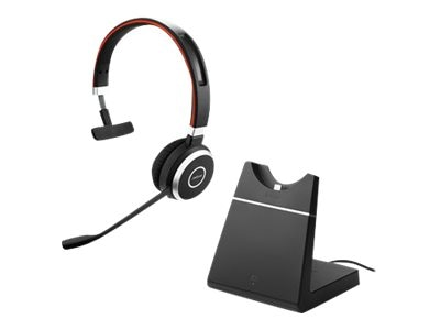 Jabra Evolve 65 Mono MS Headset w  Charging Stand Link 360