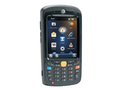 Zebra Symbol MC55A0 Wireless BT 2D Imager VGA Display Camera Num Keypad Extended Battery WM6.5 French