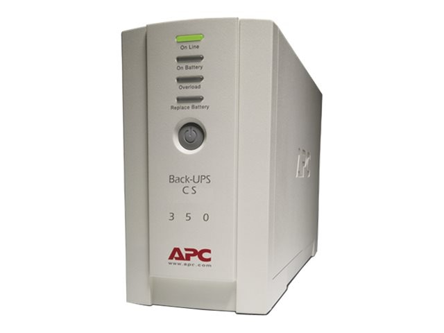 APC Back-UPS CS 350VA 210W Standby Tower UPS (6) 5-15R Outlets USB, BK350