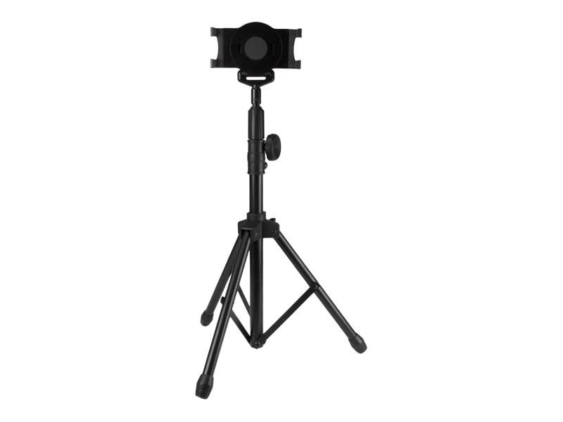 StarTech.com Tripod Floor Stand for 7-11 Tablets, Black, STNDTBLT1A5T