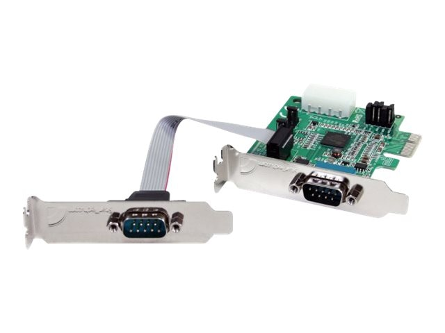 StarTech.com 2Pt. LP PCIe Serial Adapter Card