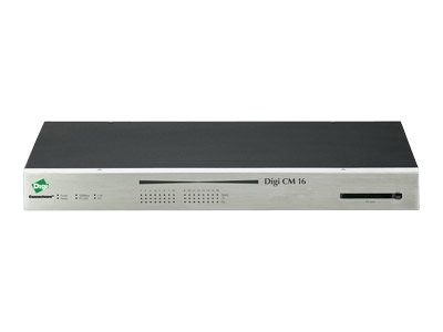 Digi CM 16 Console Server with 16 RJ-45 Serial Ports, 70001910, 440532, Remote Access Hardware