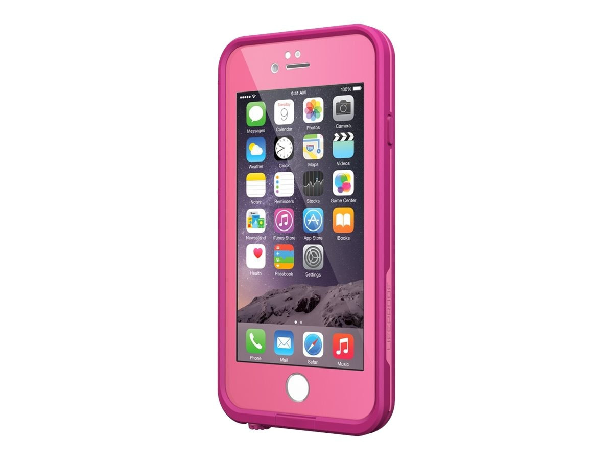 Lifeproof fre iPhone 6 Case Amer V2, Pink, 77-51330, 21730985, Carrying Cases - Phones/PDAs