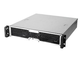 Chenbro Chassis, 2U RM ATX 1x5.25 Bay 1x3.25 + 2x2.5 Bays 7xLP Slots 1xFan, RM24100-L, 15639878, Cases - Systems/Servers
