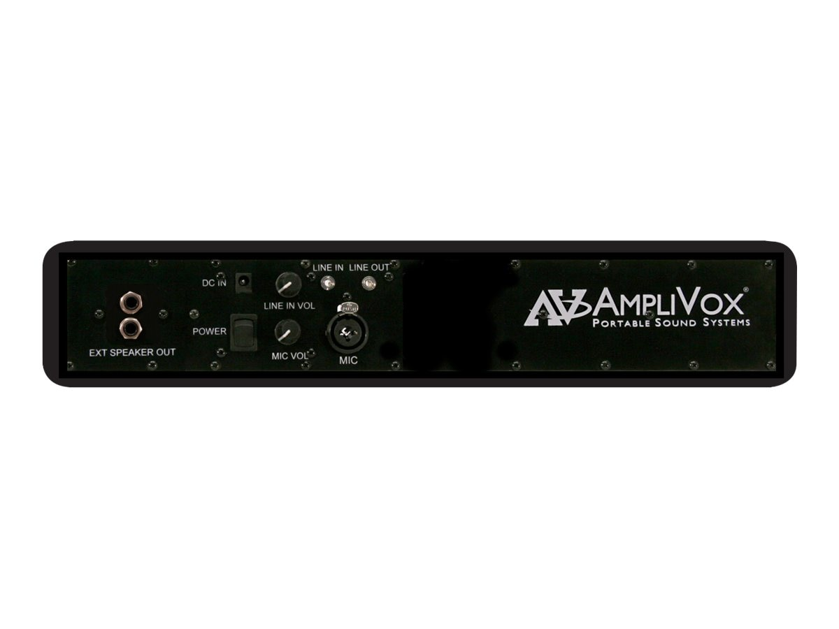 AmpliVox Portable Sound Systems S1234 Image 2
