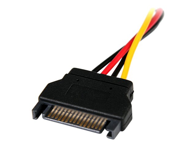 StarTech.com 15pin SATA to LP4 Molex Power Cable, LP4SATAFM6IN
