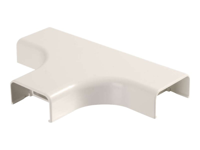 C2G Wiremold Uniduct 2900 Bend Radius Compliant Tee, Fog White