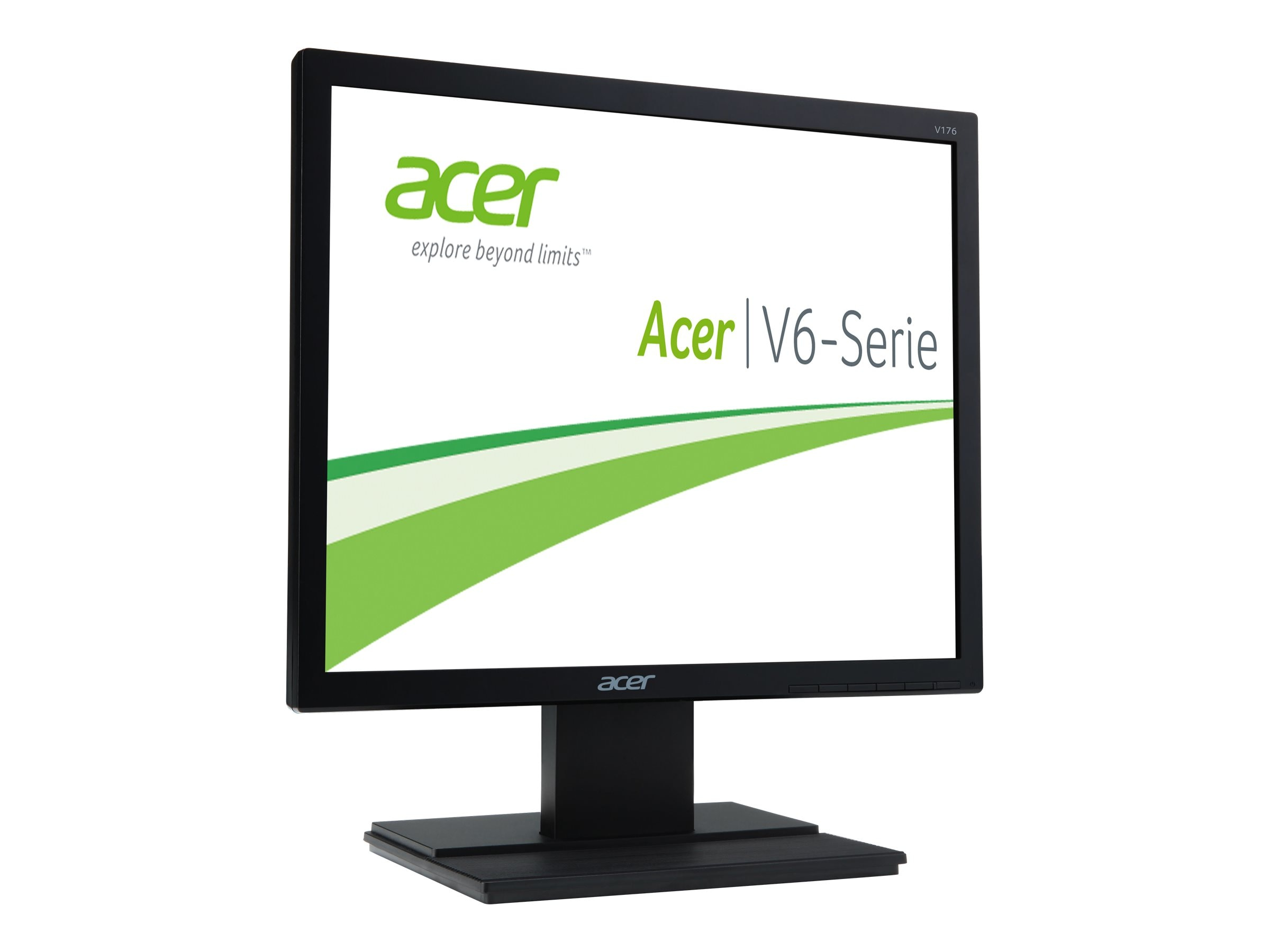 Open Box Acer 17 V176L b LED-LCD Monitor, Black, UM.BV6AA.002