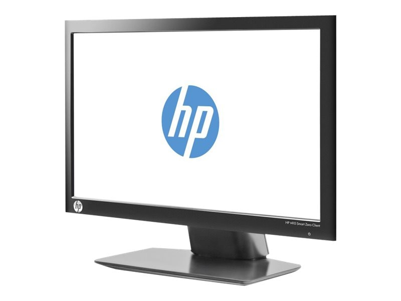 HP t410 AIO Zero Client ARM Cortex-A8 1.0GHz 1GB DDR3 2GB Flash GNIC 18.5WLED Smart Zero, H2W21AT#ABA, 14813918, Thin Client Hardware