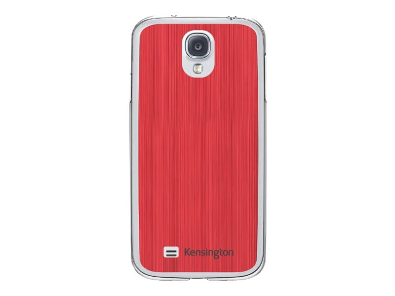 Kensington Aluminum Finish Case for Samsung Galaxy S 4, Red, K44418WW