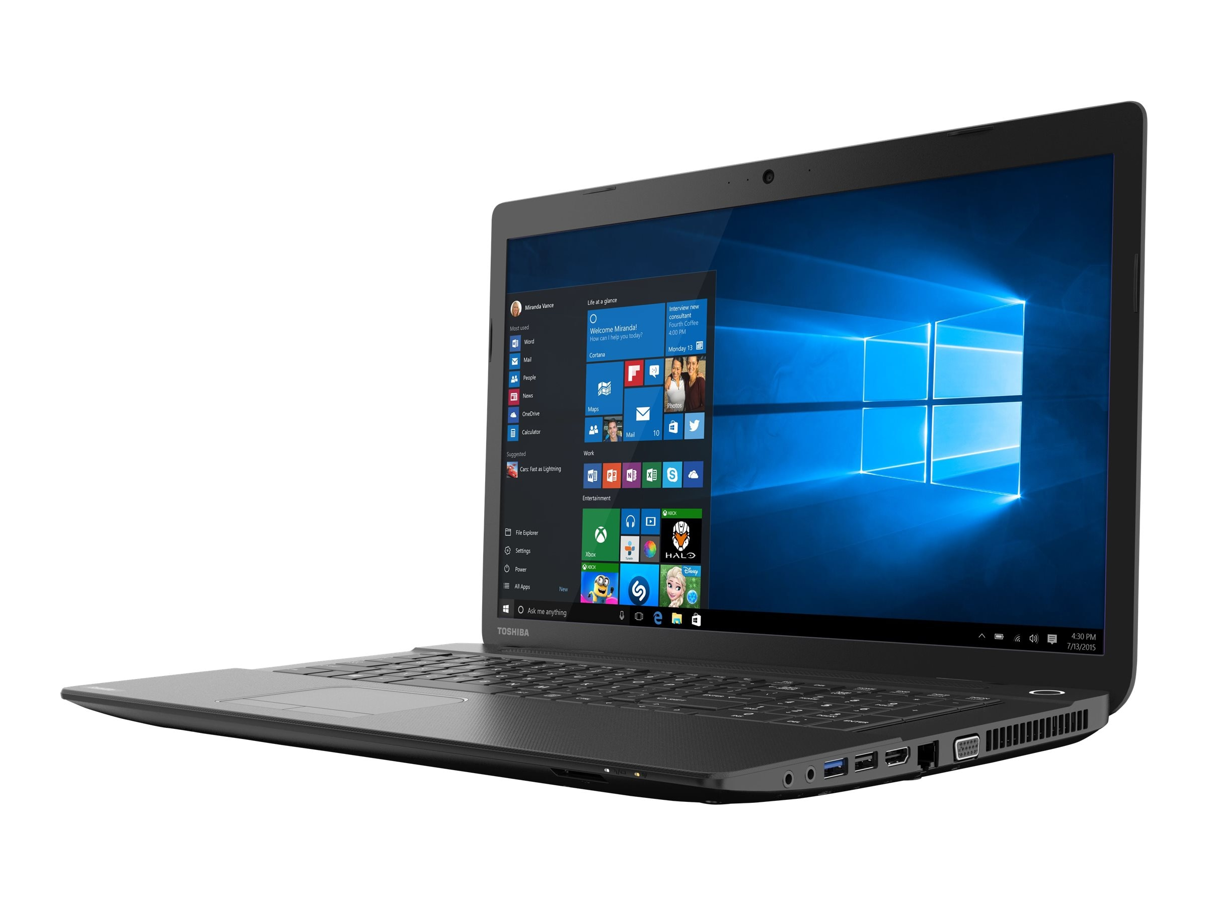 Toshiba Satellite C75D-B7297 6GB 750GB 17.3, PSCLEU-04T06J, 23205447, Notebooks