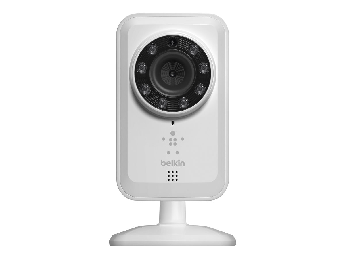 Belkin NetCam Wi-Fi Camera with Night Vision, F7D7601