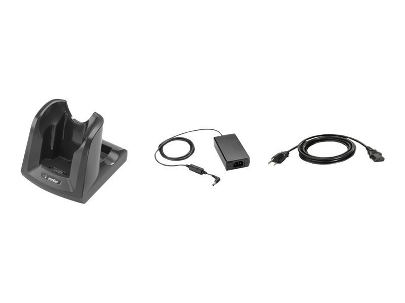 Zebra Symbol Cradle Kit 1-slot for MC3000, US, CRD3000-100RES, 12428549, Battery Chargers