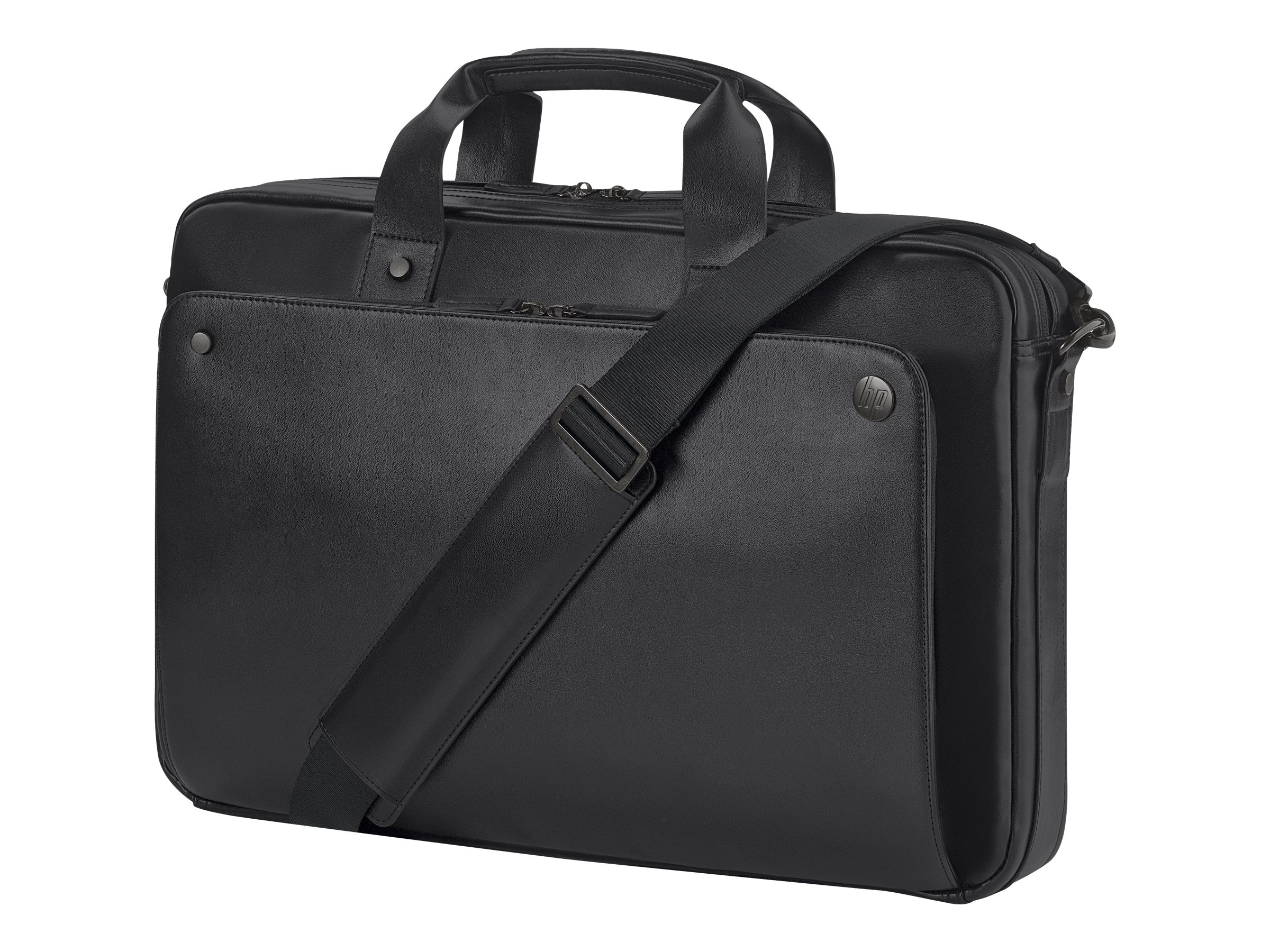 HP Executive Leather Top Load 17.3, Black, P6N25UT