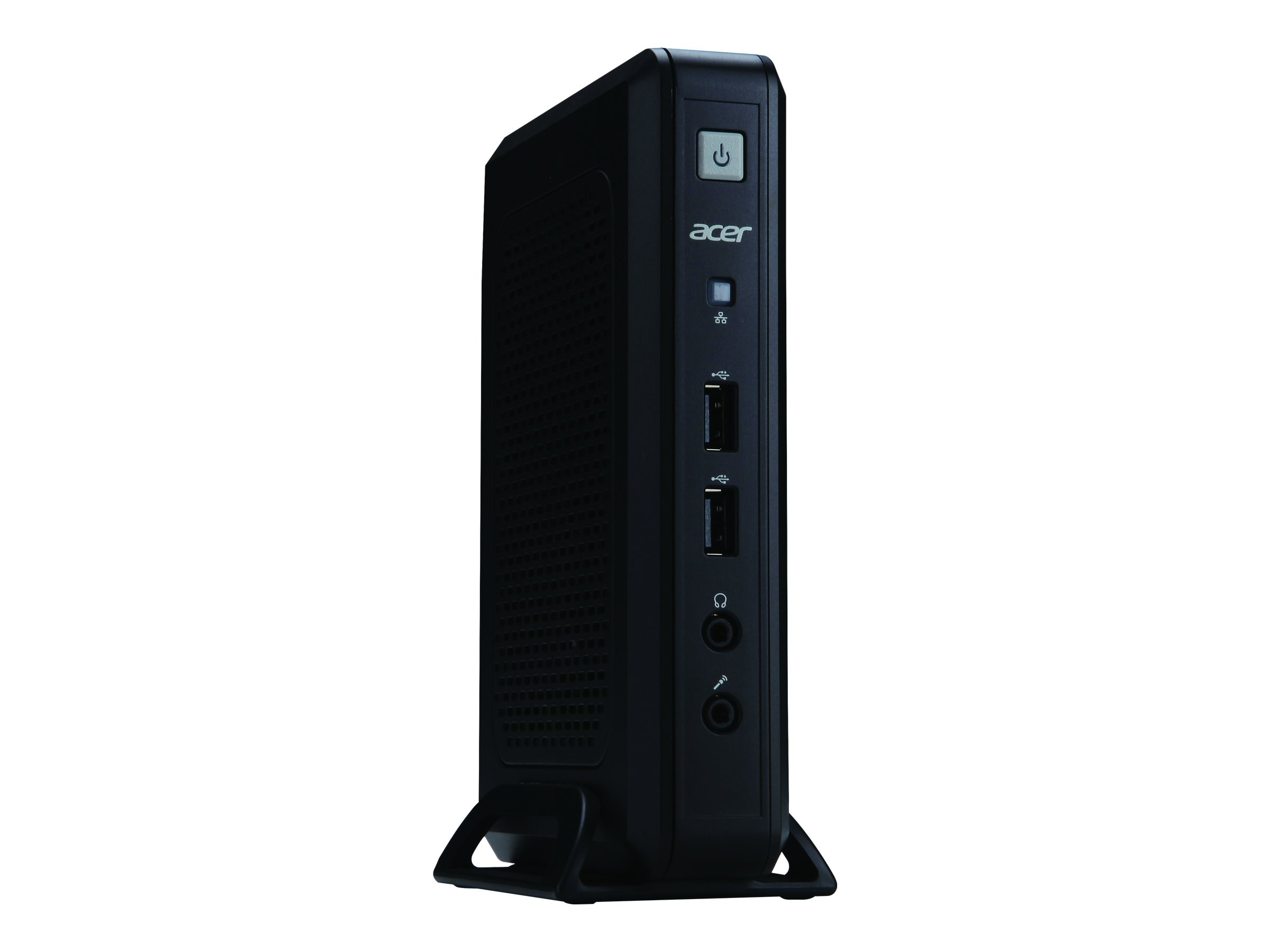 Acer Veriton VN2010G-UT03POE Thin Client DaVinci 1.0GHz 1GB 4GB MicroSD GbE PoE DeTOS 7.1, DT.VG8AA.001, 15986491, Thin Client Hardware