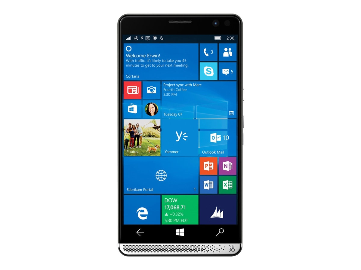 HP Elite x3 SD 820 2.15GHz 4GB 64GB ac abgn BT LTE NFC FR 2xWC 6 WQHD MT W10M