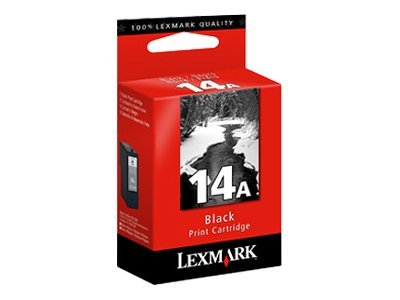 Lexmark Black #14A Ink Cartridge, 18C2080, 8442305, Ink Cartridges & Ink Refill Kits