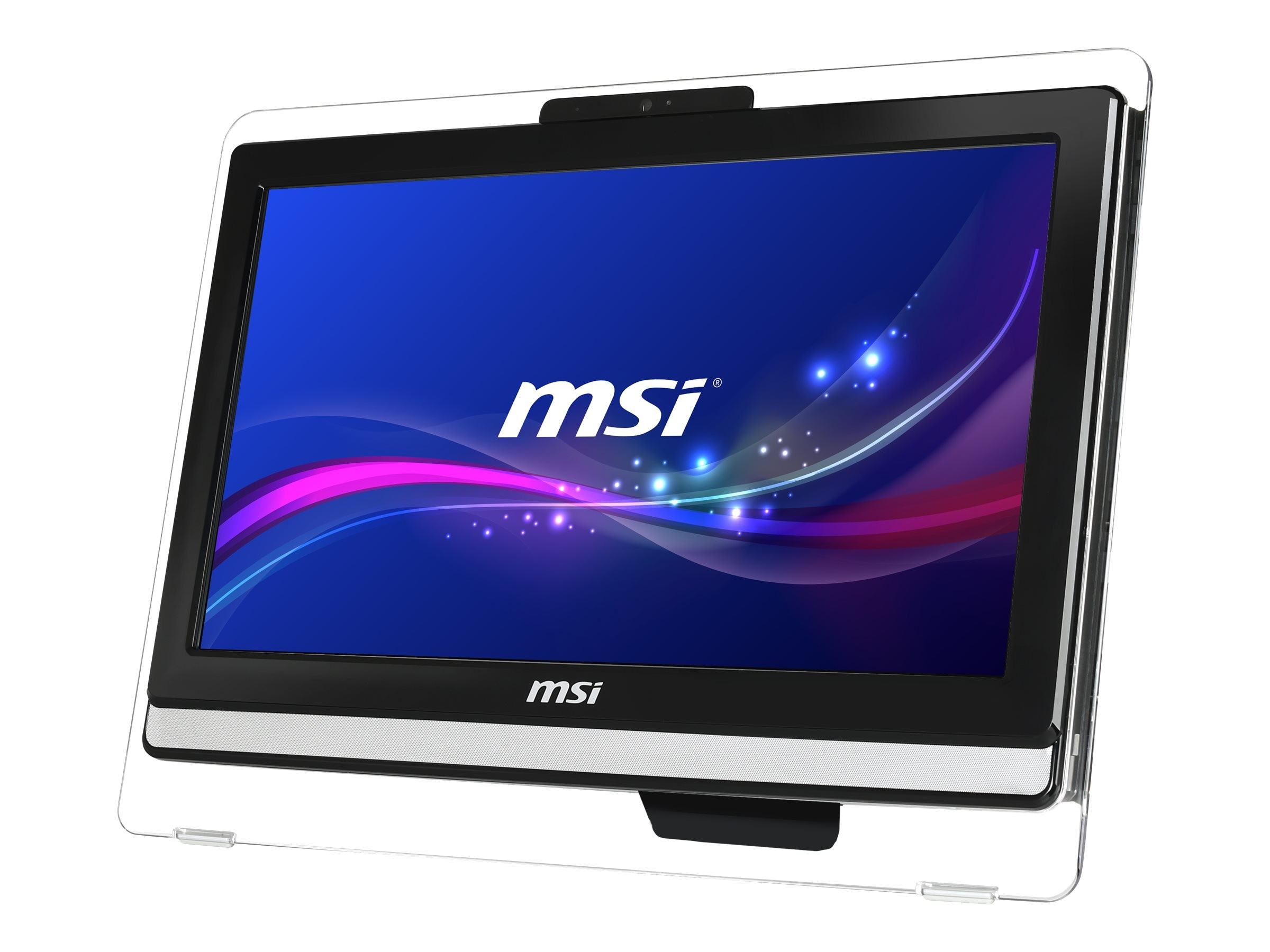 MSI AE202-013US AIO Celeron 1037U 1.8GHz 4GB 500GB DVD SM GbE bgn WC 19.5 MT W7HP, AE202-013US, 17590393, Desktops - All-in-One