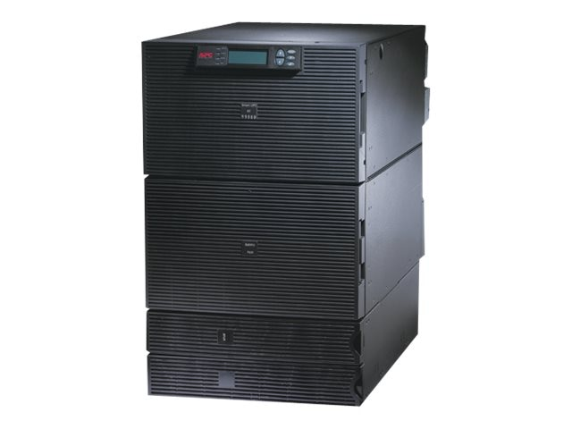 APC Smart-UPS RT 15kVA 12kW 16U RM, 10kVA Step-down Transformer, 208V Input 120-208V Output (11) Outlets, SURT15KRMXLT-1TF10K, 10115717, Battery Backup/UPS