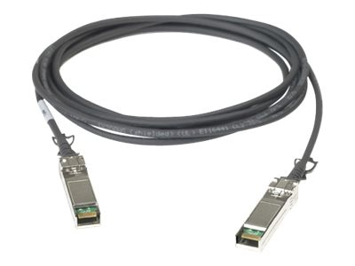 10GBASE-CR SFP-SFP Twinax Copper Cable, 1m, CAB-SFP-SFP-1M, 17266366, Cables