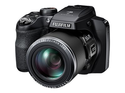 Fujifilm FinePix S9200W Camera, 16MP, 50X Zoom, Black, 16408254, 16802366, Cameras - Digital - Point & Shoot