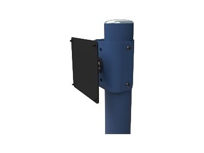 Ergotron Flat Panel Monitor Knuckle-Single Zido Pole, ZPMSCG, 16065618, Mounting Hardware - Miscellaneous