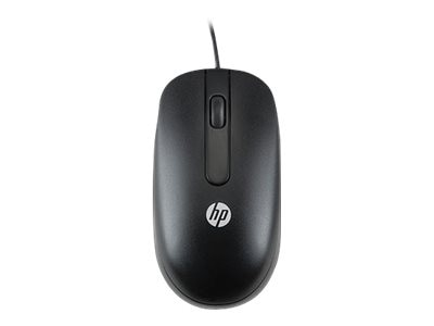 HP PS 2 Optical Mouse, 800dpi, Black, QY775AA, 15036882, Mice & Cursor Control Devices
