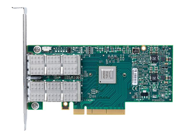 Mellanox Connect-3 VPI Dual Port QSFP FDR Adapter Card, MCX354A-TCBT, 14344154, Network Adapters & NICs