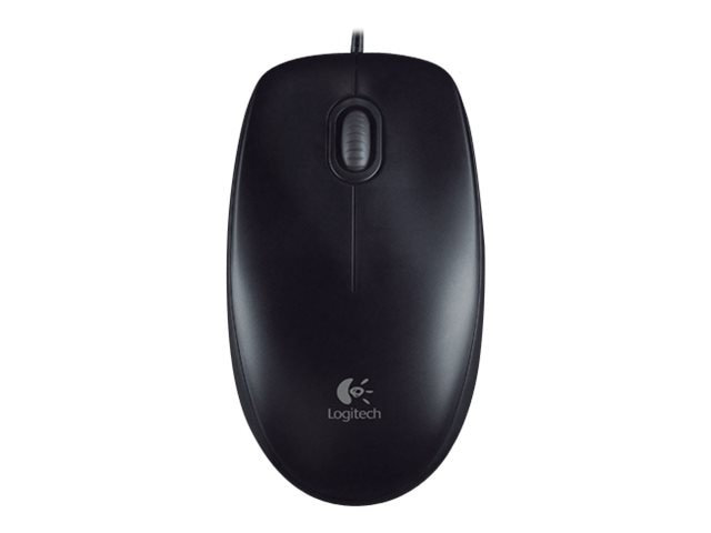 Logitech B100 Optical Mouse, USB