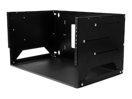 StarTech.com 4U Wall-Mount Solid Steel Server Rack w Built-in Shelf, WALLSHELF4U, 32836021, Racks & Cabinets