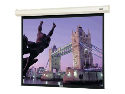 Da-Lite Cosmopolitan Electrol Projection Screen with LVC, Matte White, 4:3, 120, 40789L, 12169444, Projector Screens