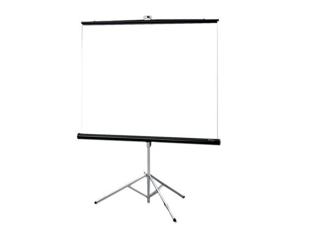 Draper Consul Portable Tripod Projection Screen, Matte White, 1:1, 60 x 60, 216003, 6246968, Projector Screens