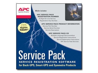 APC 3-Year Warranty Extension (for new product purchases) Hard Copy, WBEXTWAR3YR-SP-05