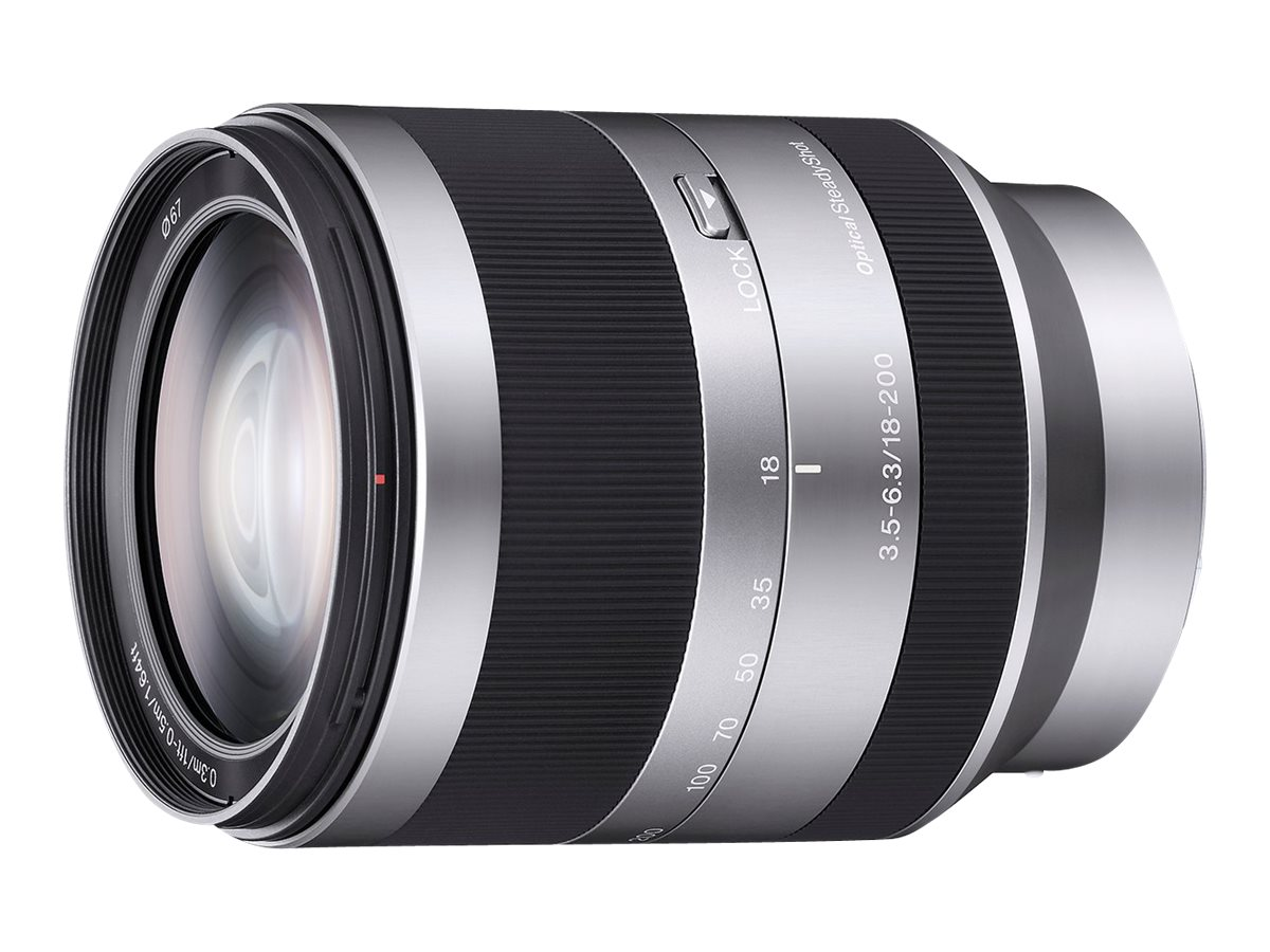 Sony NEX E-Mount Lens 18-200mm F3.5-6.3
