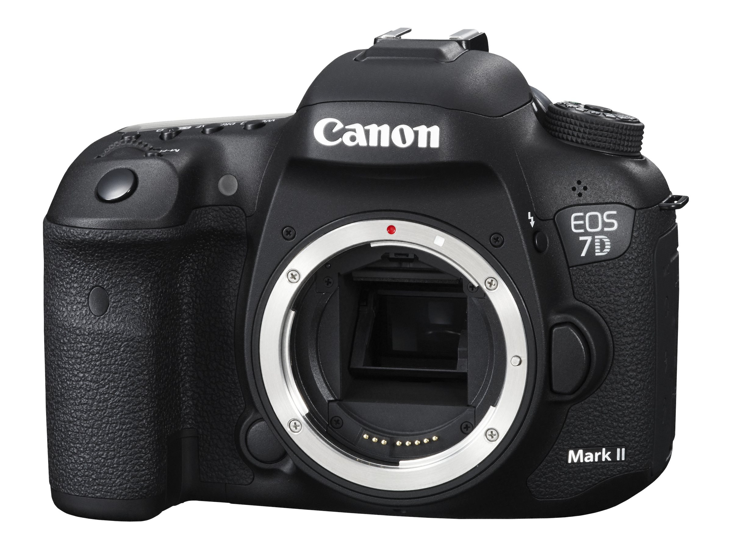 Canon EOS 7D Mark II DSLR Camera, 20.2MP, Black (Body Only)