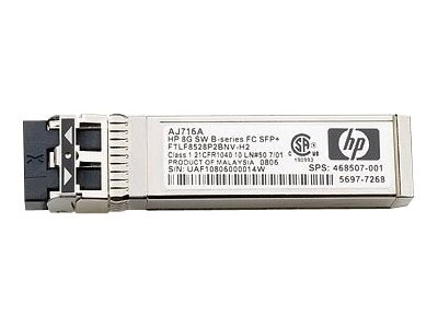HPE StoreFabric B-series 4x16Gb Fibre Channel 2Km Inter-chassis Link QSFP Transceiver