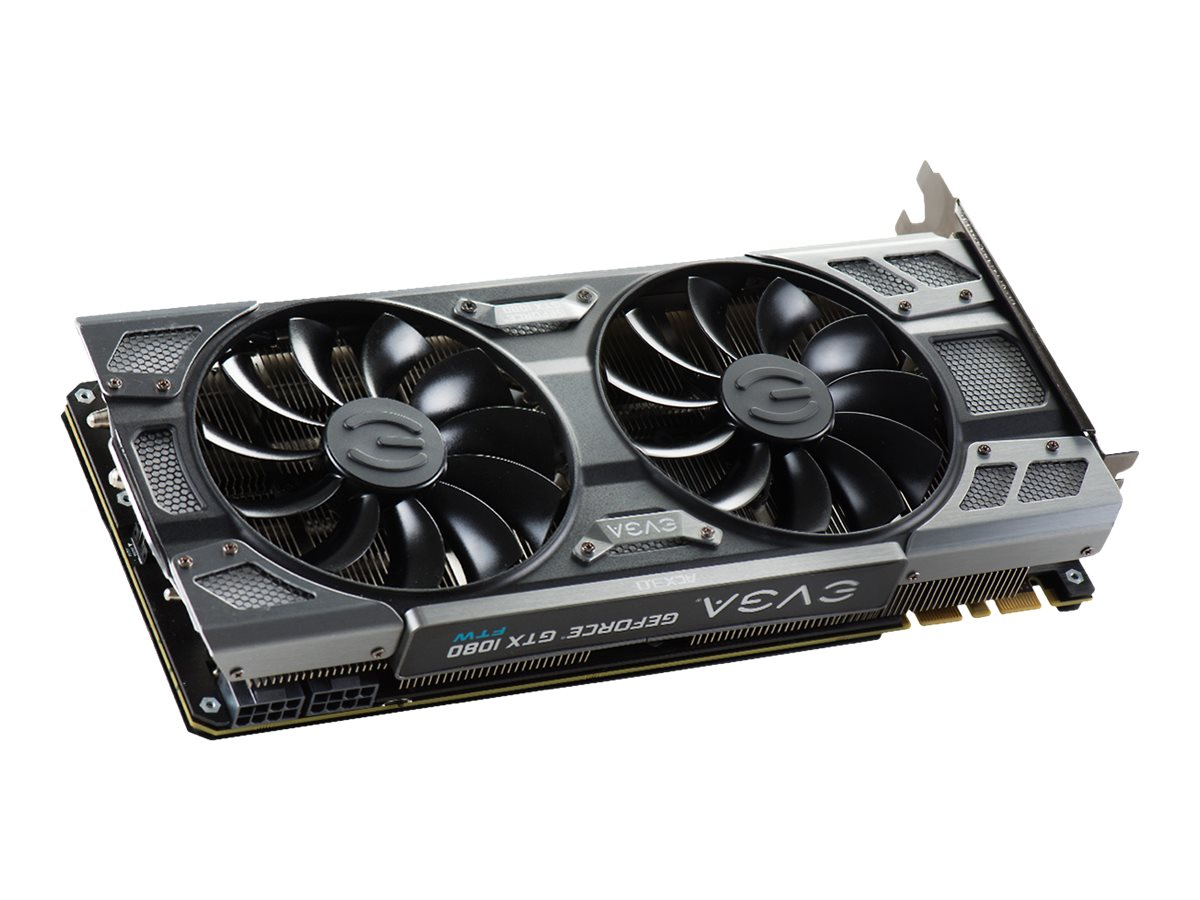 eVGA GeForce GTX 1080 FTW PCIe 3.0 x16 Graphics Card, 8GB GDDR5X, 08G-P4-6286-KR